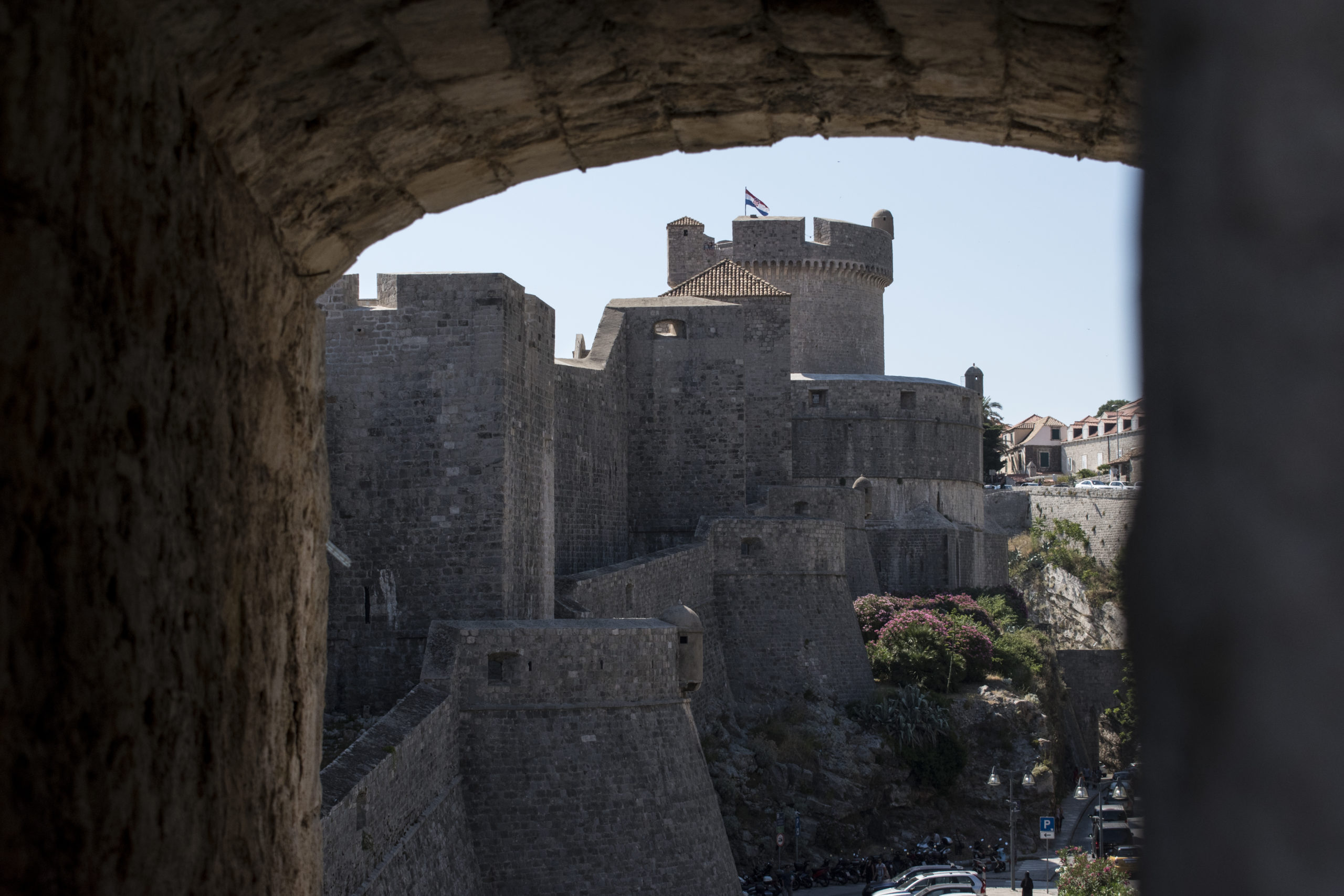 Remparts ville Croate