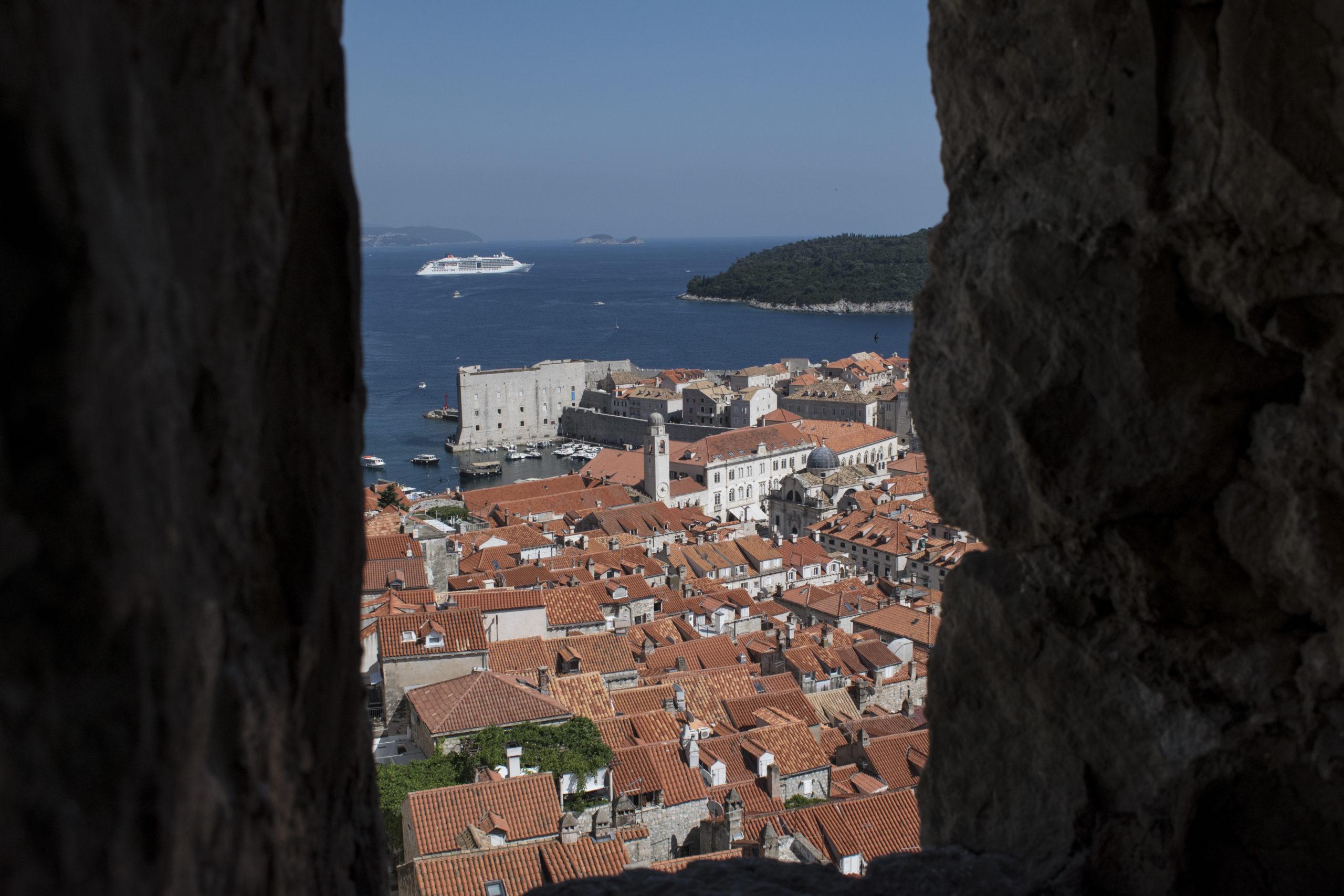 Croatie, voyages, ville, côte croate