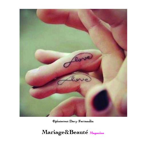 tatouage alliance mariage